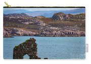 Iona Ruins And Mull Hills Carry-all Pouch