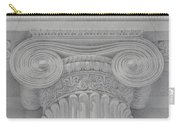 Ionic Capital Of Wall Street, Ny Carry-all Pouch