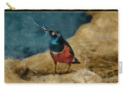 Iridescent Starling Carry-all Pouch