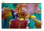 Iris Beauty Photograph Carry-all Pouch