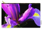Iris Bloom One Carry-all Pouch