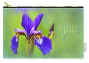 Iris Elegance Carry-all Pouch
