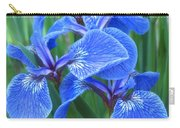 Iris Floral  Carry-all Pouch