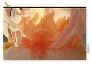 Iris Flower Art Prints Sunlit Orange Irises Baslee Troutman Carry-all Pouch
