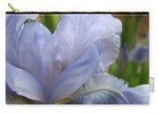 Iris Flower Blue 2 Irises Botanical Garden Art Prints Baslee Troutman Carry-all Pouch