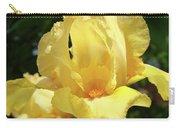 Iris Flower Floral Art Prints Orange Irises Carry-all Pouch