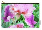 Iris Flower Photograph I Carry-all Pouch