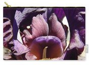 Iris Flowers Purple Irises Artwork Prints Framed Canvas Cards Nature Gardens Carry-all Pouch