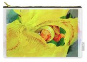 Iris In Abstract Carry-all Pouch
