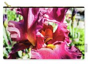 Iris In Close Up Carry-all Pouch