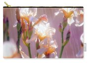 Iris In Rain Carry-all Pouch