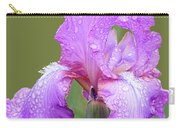 Iris In Summer Rain  Carry-all Pouch