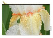 Iris In The Rain Carry-all Pouch