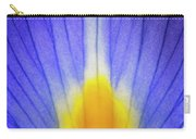Iris Leaf Abstract Carry-all Pouch
