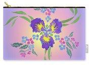 Iris Pinwheel Carry-all Pouch