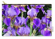 Iris Splendor Carry-all Pouch