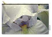 Iris With A Bonnet Series 7 Carry-all Pouch