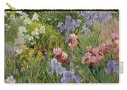 Irises At Bedfield Carry-all Pouch