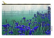 Irises At Dawn 3 Carry-all Pouch