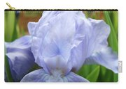 Irises Blue Iris Flower Light Blue Art Flower Soft Baby Blue Baslee Troutman Carry-all Pouch