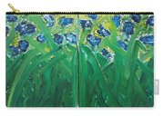 Irises Diptych Carry-all Pouch