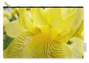 Irises Yellow Brown Iris Flowers Irises Art Prints Baslee Troutman Carry-all Pouch