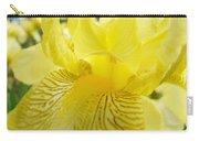 Irises Yellow Brown Iris Flowers Irises Art Prints Baslee Troutman Carry-all Pouch