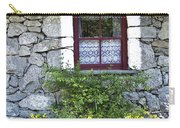 Irish Cottage Window County Clare Ireland Carry-all Pouch
