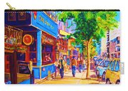 Irish Pub On Crescent Street Carry-all Pouch