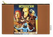Irish Terrier Art Canvas Print - The Fifth Element Movie Poster Carry-all Pouch