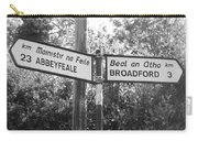 Irish Village Sign County Limerick. Carry-all Pouch