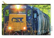 Iron Age Engineers Csx Locomotive Art Carry-all Pouch