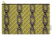 Iron Chains With Knit Seamless Texture Carry-all Pouch