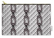 Iron Chains With White Background Seamless Texture Carry-all Pouch
