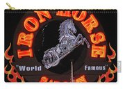 Iron Horse Saloon In Neon Carry-all Pouch