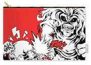 Iron Maiden Vs Megadeth Carry-all Pouch