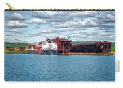 Iron Ore Loading Onto Laker Carry-all Pouch