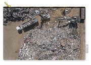 Iron Raw Materials Recycling Pile, Work Machines.  Carry-all Pouch