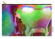 Ironman Abstract Digital Paint 1 Carry-all Pouch