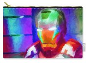Ironman Abstract Digital Paint 2 Carry-all Pouch