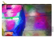 Ironman Abstract Digital Paint 3 Carry-all Pouch