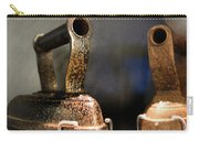 Irons From Early 1900s Australia Carry-all Pouch