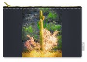 Ironwood Saguaro Dance Vignette Carry-all Pouch