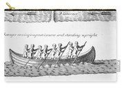 Iroquois Canoes Carry-all Pouch
