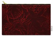 Irridescent Red Carry-all Pouch