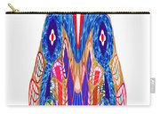 Is That A Head Or A Hat ??  Alien Fineart Graphic Whimsical Rohrshoc Abstract By Navinjoshi Carry-all Pouch