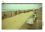 Is This A Beach Day - Jersey Shore Carry-all Pouch by Angie Tirado