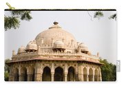 Isa Khan Tomb Burial Sites Carry-all Pouch