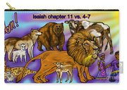 Isaiah 11 Vs 4-7 Carry-all Pouch