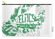 Isaiah Thomas Boston Celtics Pixel Art 15 Carry-all Pouch